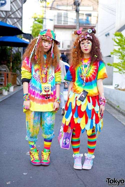 【画像あり】 東京のファッションが 奇 抜 す ぎ る と海外で 話題に wwwwwwwwwww
