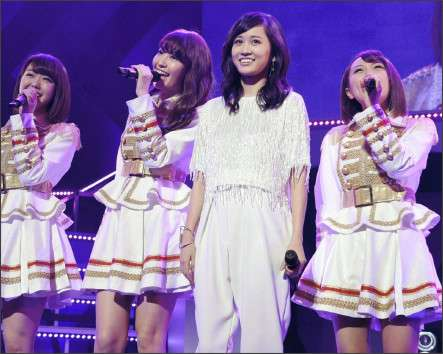 「歌詞間違えちゃったけど、楽しかった」前田敦子が卒業後初めてAKB曲を歌う