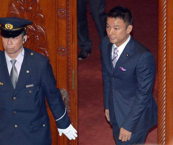 山本太郎氏のテロ非難決議棄権 民主・榛葉氏「決議の意味、分かっているのか?」 連携見直しも… - 産経ニュース