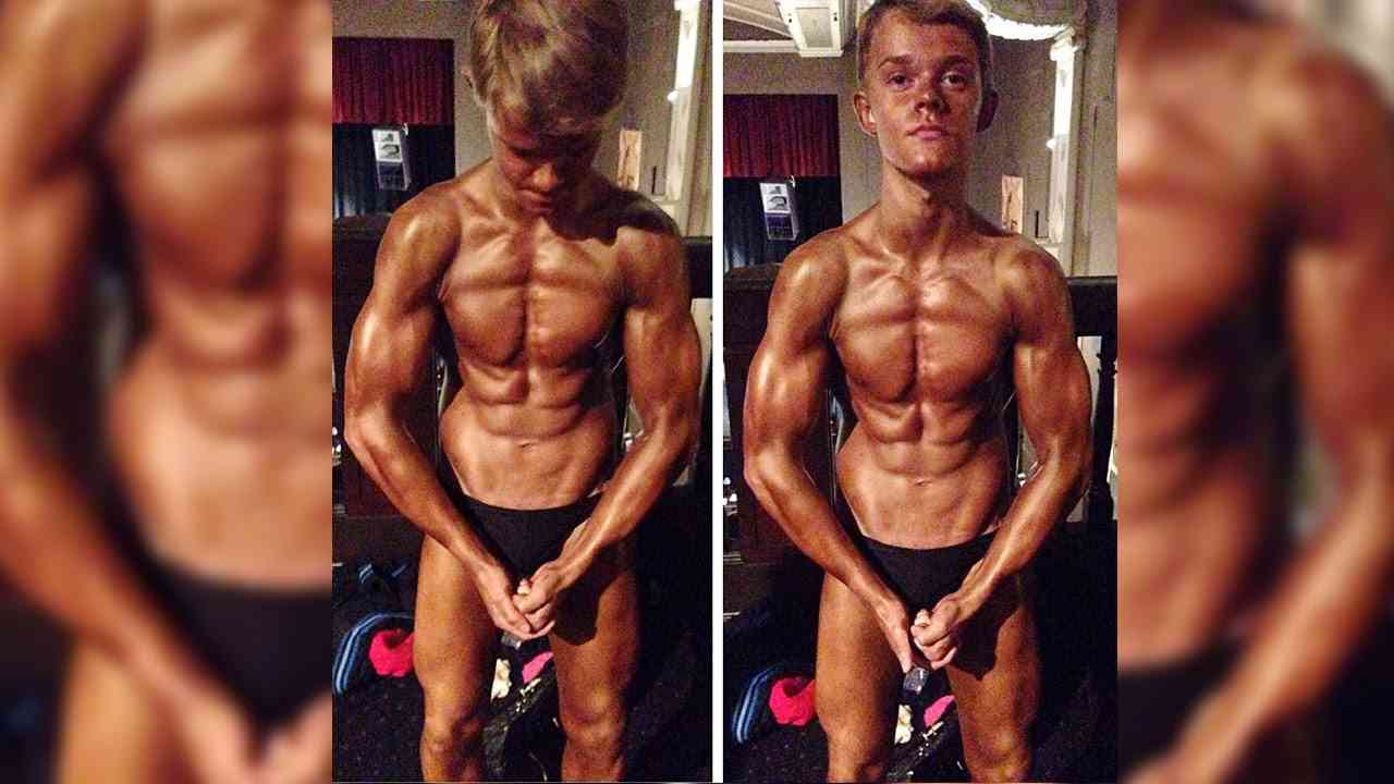 Mini Muscles: Britain's Youngest Competitive Bodybuilder - YouTube