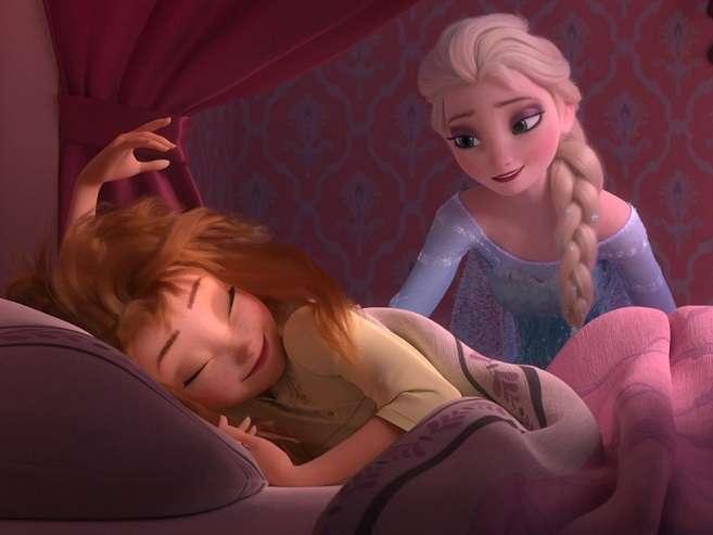 「アナ雪」のその後を描いた新作短編「アナと雪の女王/エルサのサプライズ」が「シンデレラ」と同時上映