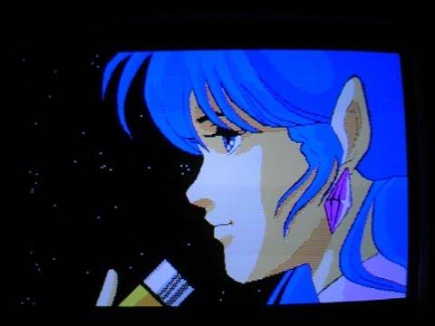 1985年頃のPCによる当時のアニメキャラCG色々