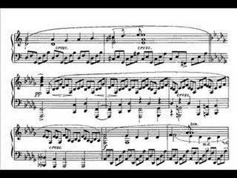 Richter plays Scriabin: Sonata no. 2, Op 19 (movement 2) - YouTube