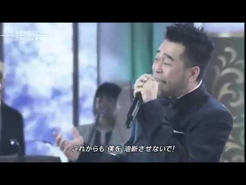 20131204 FNS歌謡祭 キスマイx槇原 冬がはじまるよ - YouTube