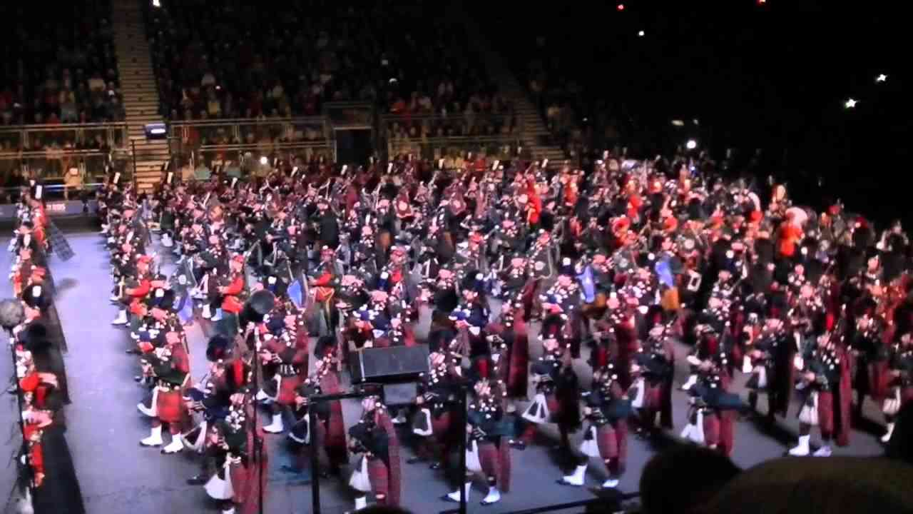2014 Royal Edinburgh Military Tattoo - YouTube