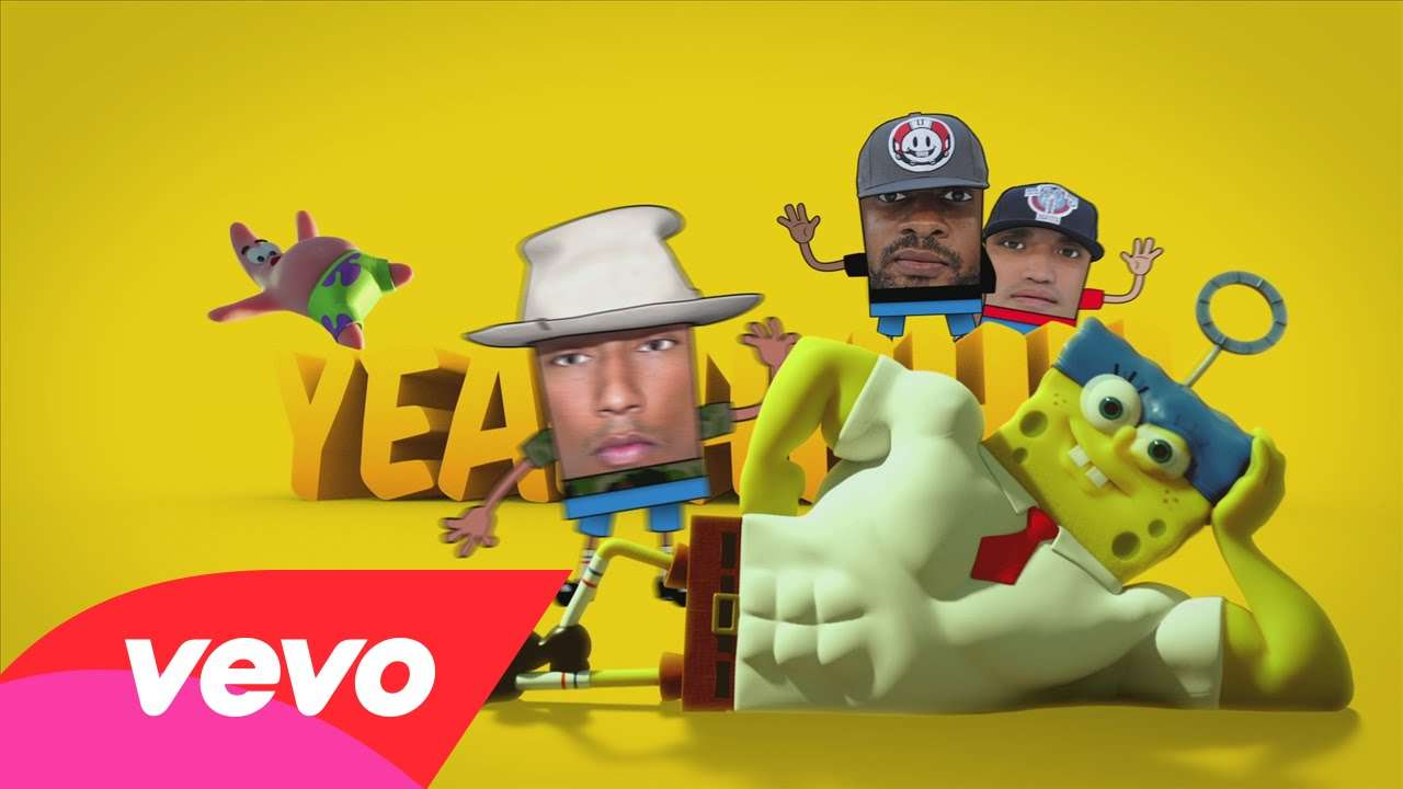 N.E.R.D. - Squeeze Me (from The Spongebob Movie: Sponge Out Of Water) - YouTube