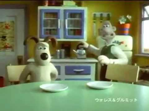 Glico Pucchin Pudding - Wallace & Gromit (2000, Japan) - YouTube