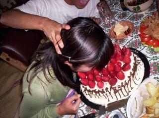顔面ケーキについて