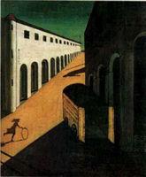 『街の神秘と憂鬱』 : ピカソが最も恐れた画家「ジョルジョ・デ・キリコ」の不思議な絵 - NAVER まとめ