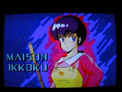 80年代PCによる当時のアニメCGデモ Part3 (Animation Characters demo for old PC) - YouTube