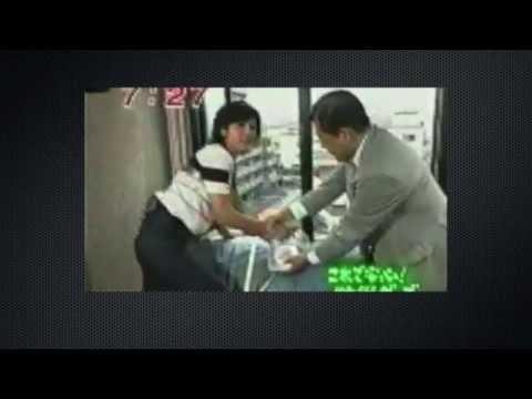 菊間千乃転落事故 [放送事故] 1998/09/02 フジテレビ めざましテレビ - YouTube