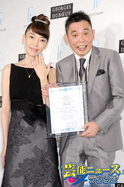太田光夫妻、結婚25年で初挙式  念願のブライダル2ショットが実現