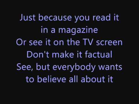 Michael Jackson - Tabloid Junkie Lyrics - YouTube