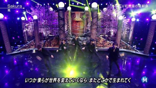 嵐 「Sakura」 MUSIC STATION 2015-02-20 - Dailymotion動画