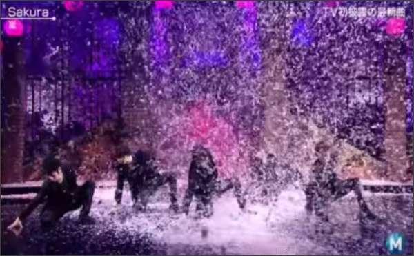 嵐がミュージックステーション出演「激しい桜吹雪」で混乱