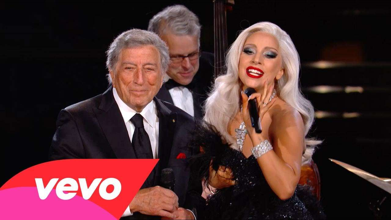 Tony Bennett, Lady Gaga - Cheek To Cheek (57th GRAMMYs) - YouTube
