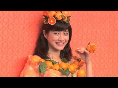 石原さとみが「みかんの妖精」に変身! 「果汁グミ」新CM - YouTube
