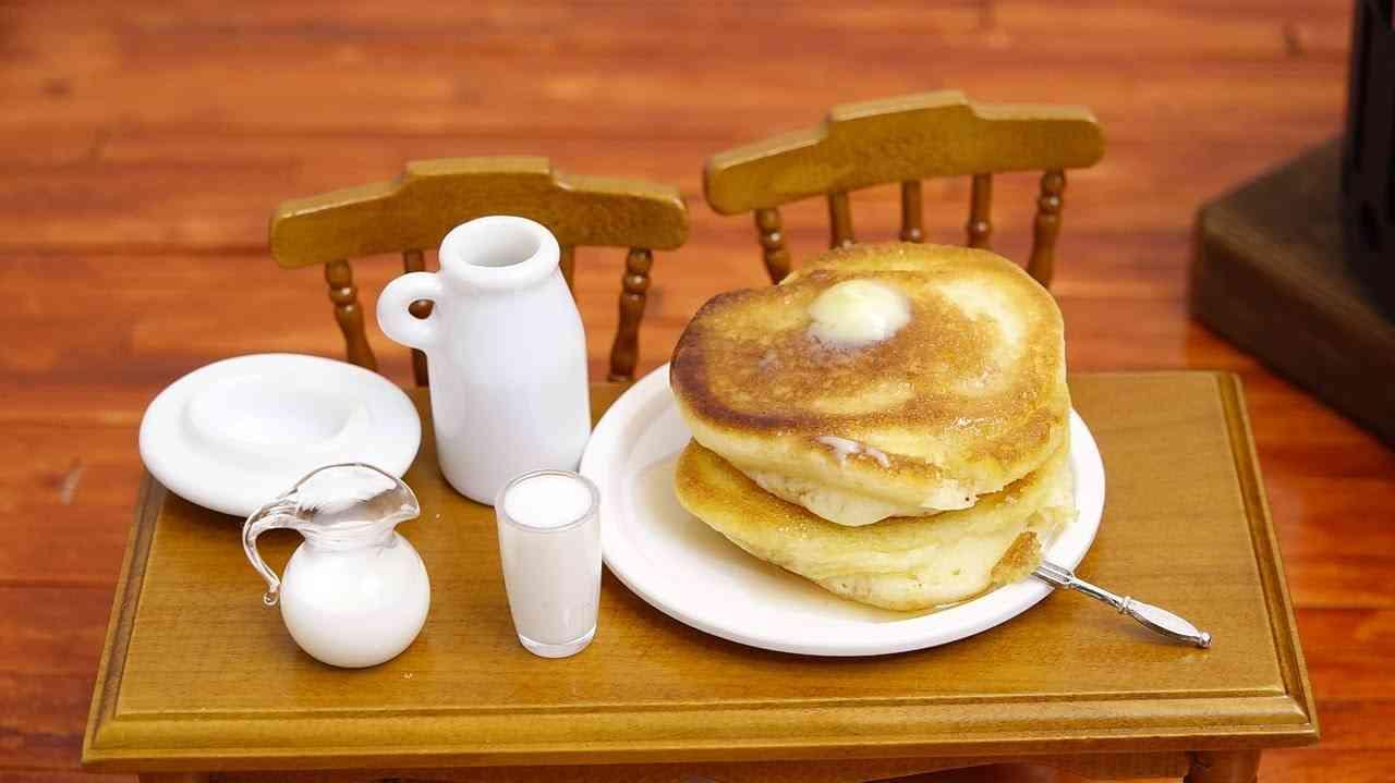 Mini Food Pancake 食べれるミニチュア ホットケーキ - YouTube