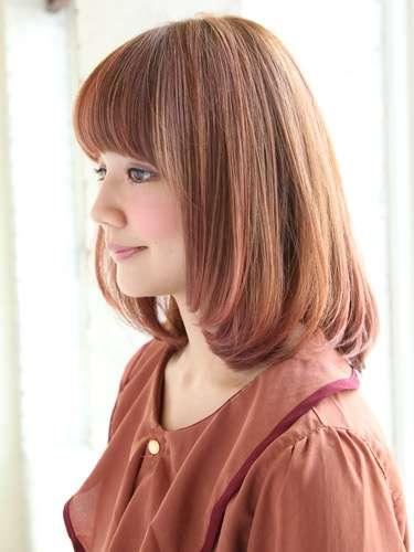 伸ばしかけの髪の毛