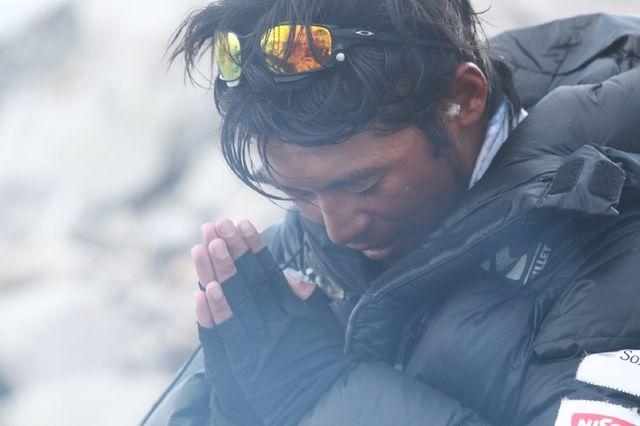 9本の指失った登山家・栗城史多さん、5度目のエベレスト挑戦へ