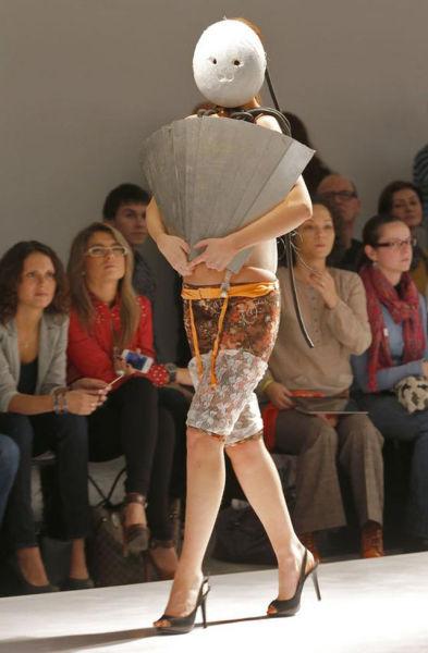 ファッションショーがついに新境地へww