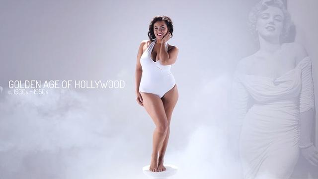 女のモテ体型は時代と共に変化!3000年に渡る「11の理想的な体型」を紹介する動画が話題