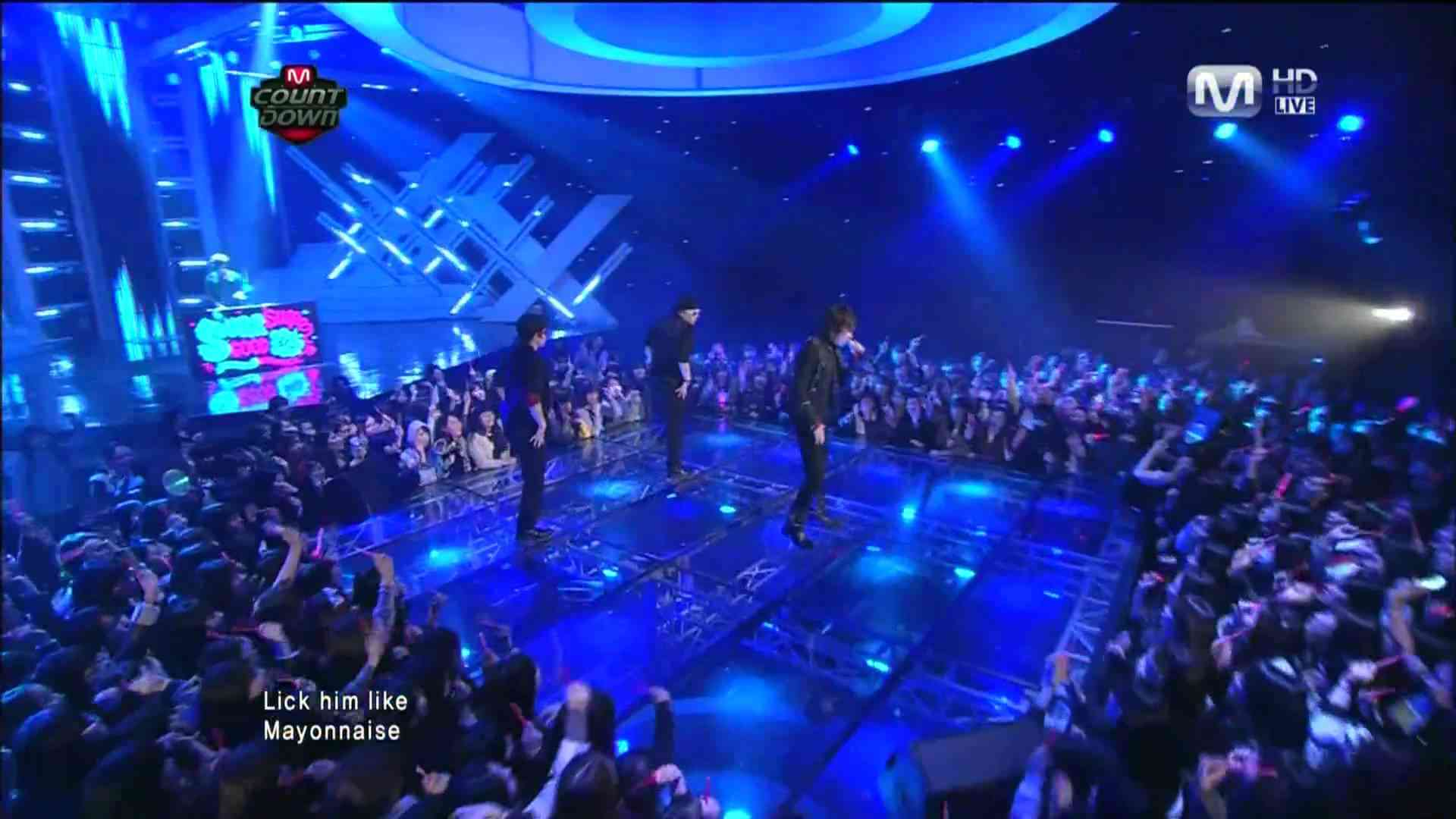 110224 M-net Y@m@P - PARTY DON'T STOP - YouTube