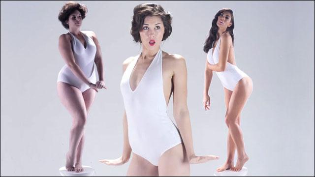 過去3000年の間に大きく変化してきた「女性の理想の体型」を3分にまとめた映像 - DNA