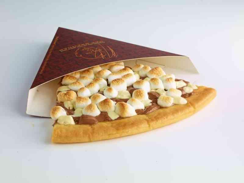 """ミスタードーナツにピザ風スイーツ「ピッツァ・チョコラータ」--""""チョコ好きのためのピッツァ""""登場"""