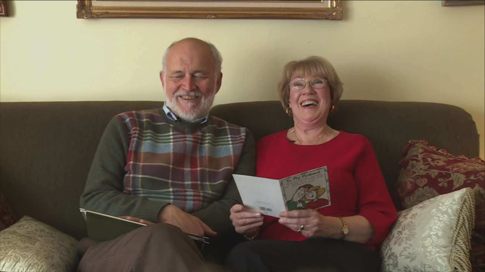 Husband Gives Over 10,000 Love Letters to Loving Wife - YouTube