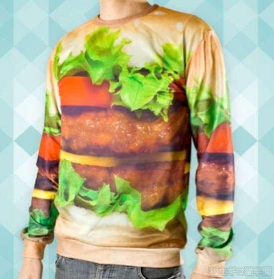 ファン待望…?「ビッグマック」柄の下着が誕生、スウェーデンのマクドナルドから