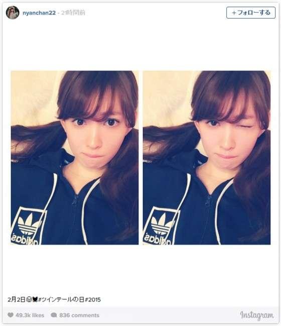 AKB48小嶋陽菜(26)のツインテールに「可愛い」「あと3年はイケる」と反響