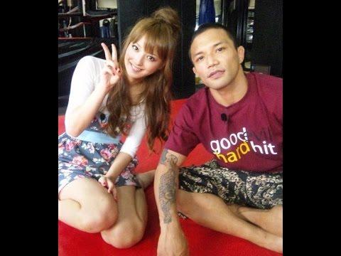 山本KID徳郁 × 佐々木希 ジムで練習体験 - YouTube