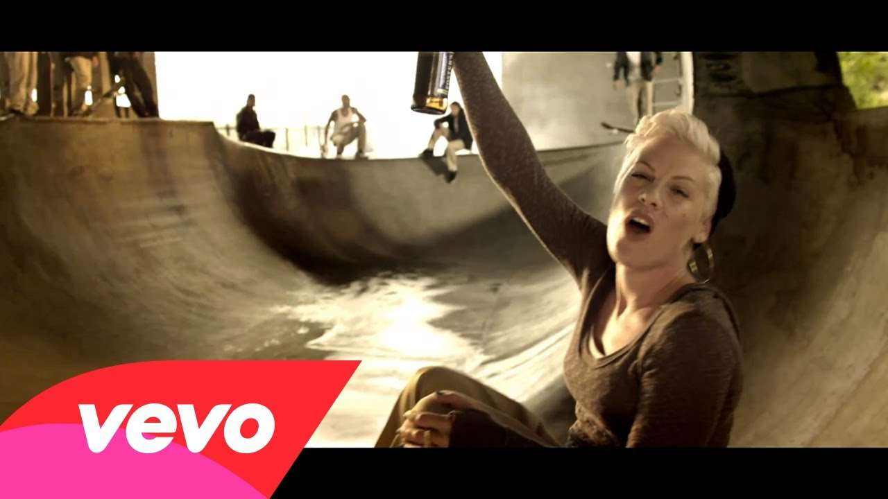 P!nk - Raise Your Glass - YouTube