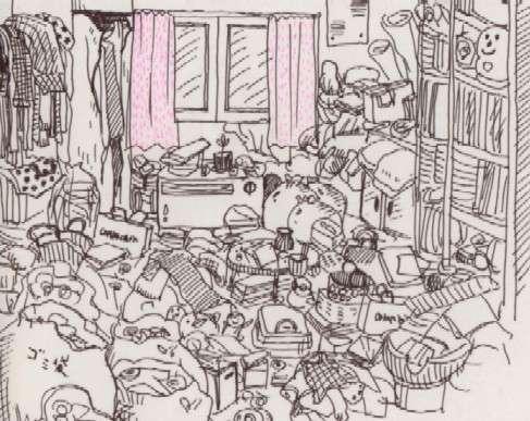 貧乏なのは部屋に原因あり! 貧乏に共通している人の部屋