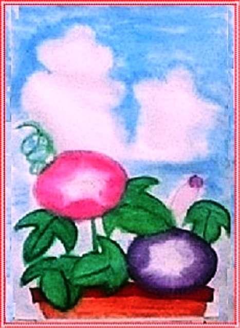 小学生の絵画展