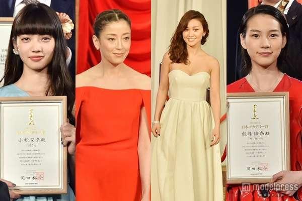 <写真特集>宮沢りえ、大島優子、能年玲奈、小松菜奈ら美女がドレスアップで集結「第38回日本アカデミー賞」 - モデルプレス