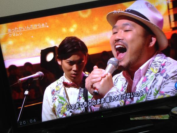 SEKAI NO OWARI・Fukase&きゃりーぱみゅぱみゅ「Mステ」で共演