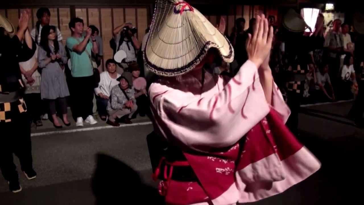 おわら風の盆 越中八尾 美しき踊り子達 - YouTube