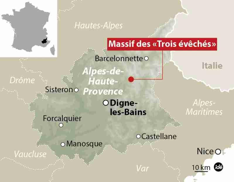 フランス南部でドイツの旅客機墜落か