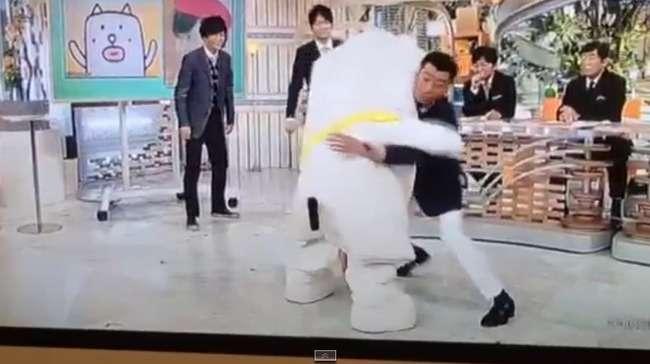 【放送事故】スッキリに出演したゆるキャラがまさかの排泄www