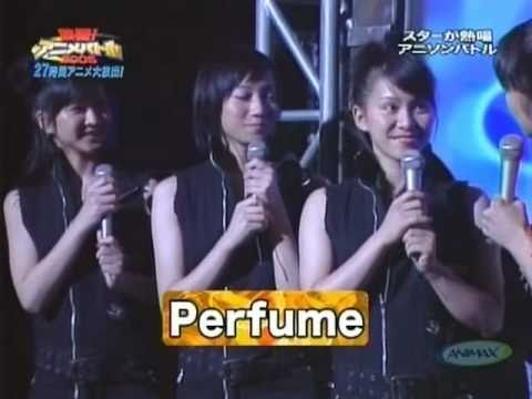 ANIMAX キューティーハニー Perfume - YouTube