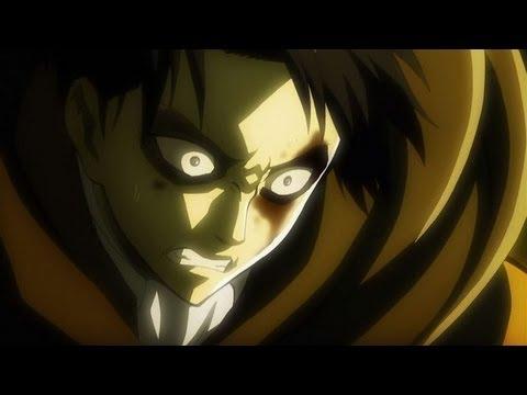 リヴァイ&ミカサ 女型巨人との戦闘シーン 【進撃の巨人 22話】 (HD)  Attack on titan ep.22 - YouTube