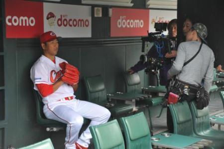 """黒田""""男気""""全国CMデビュー!「野球に注目してもらえるなら」 (スポニチアネックス) - Yahoo!ニュース"""