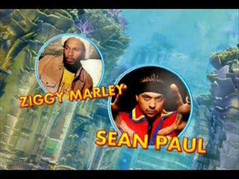 Sean Paul & Ziggy Marley - Three Little Birds - YouTube