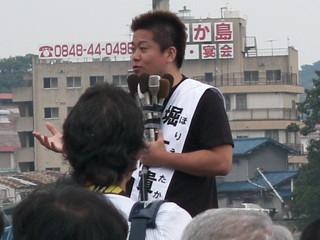 ホリエモンこと堀江貴文 逮捕後初の先生役で講義「俺みたいになるな」