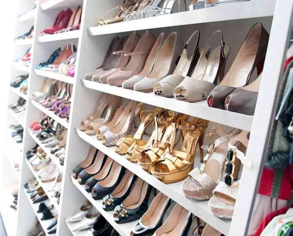 持っている靴の数