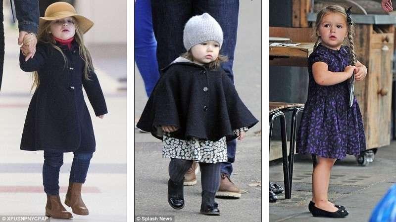 ベッカム家長女、ハーパー・セブンちゃんのオシャレすぎる春ファッション