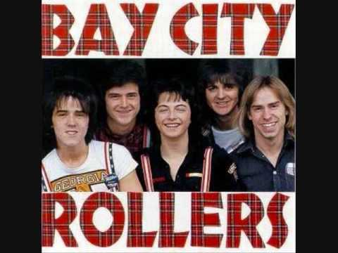Bay city rollers-Saturday night - YouTube