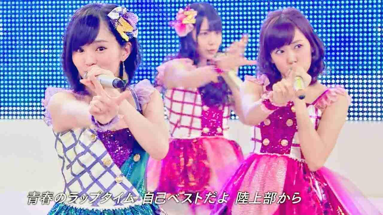 【Full HD 60fps】 NMB48 青春のラップタイム - YouTube